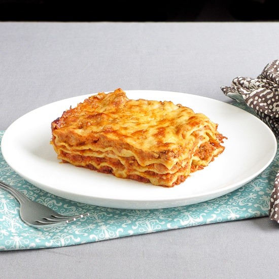 Lasagna Bolognese with Béchamel - Snixy Kitchen