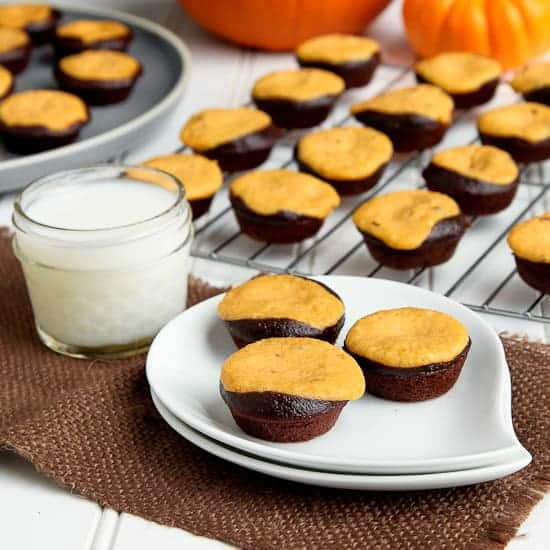 Brownie Pumpkin Cheesecake Recipe — Dishmaps