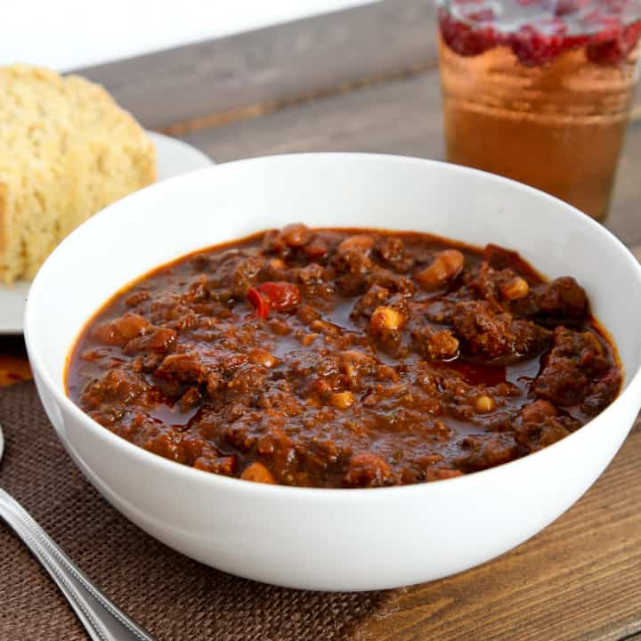 Texas-style chili turned healthy