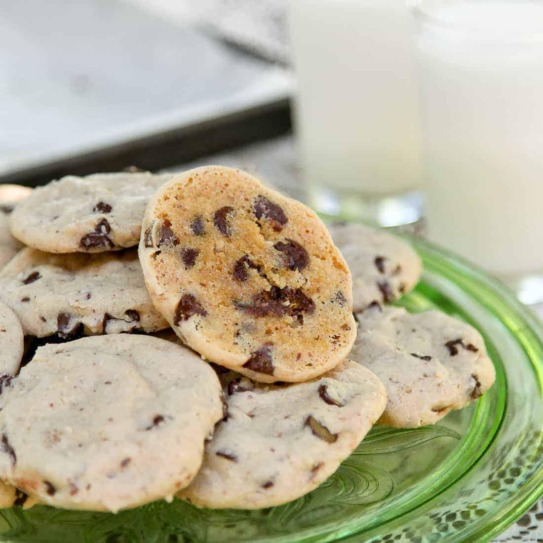 Dashboard chocolate chip cookies - Gluten Free