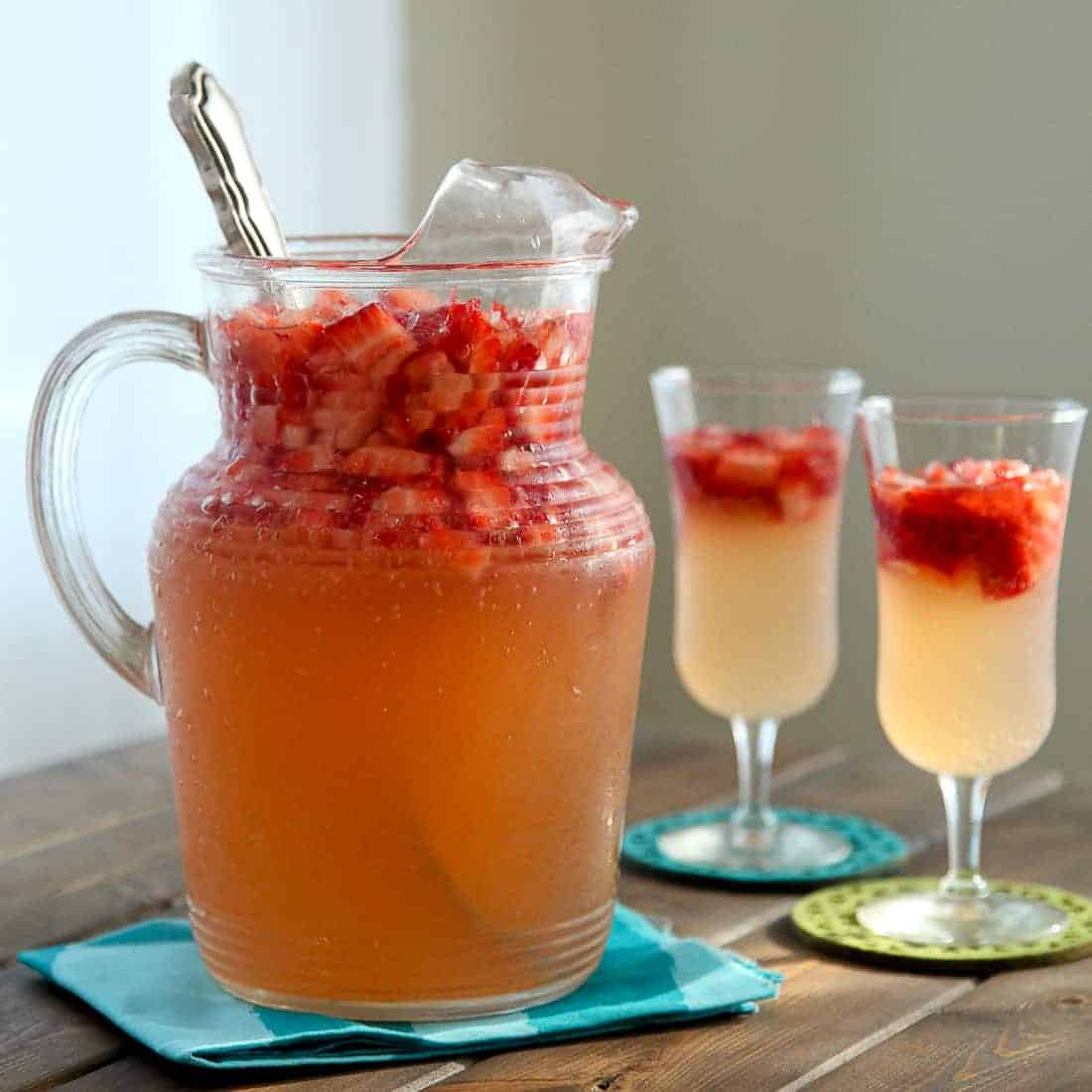 Strawberry Ginger Lemonade