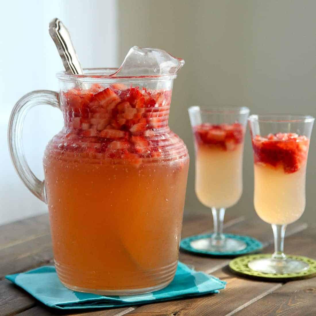 Strawberry Ginger Lemonade