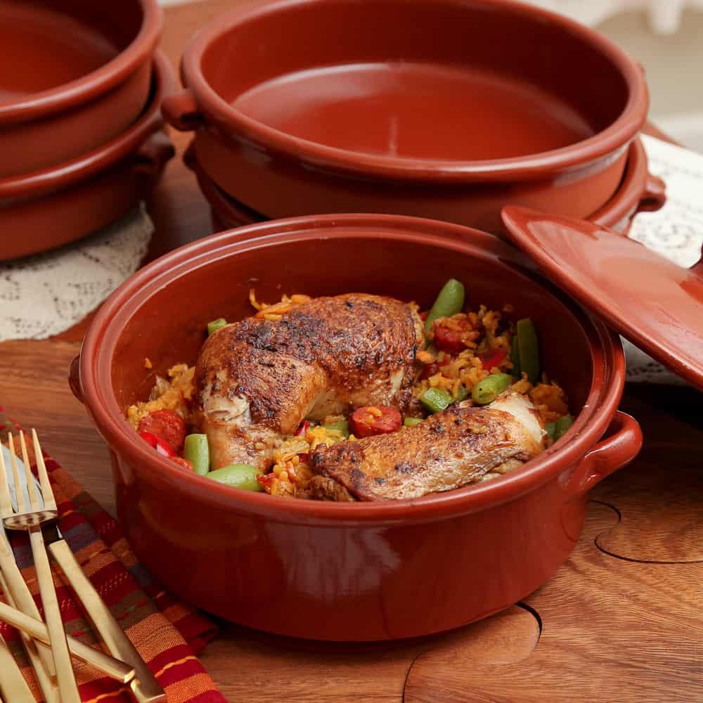 Weeknight Paella with Spanish Chorizo and Chicken