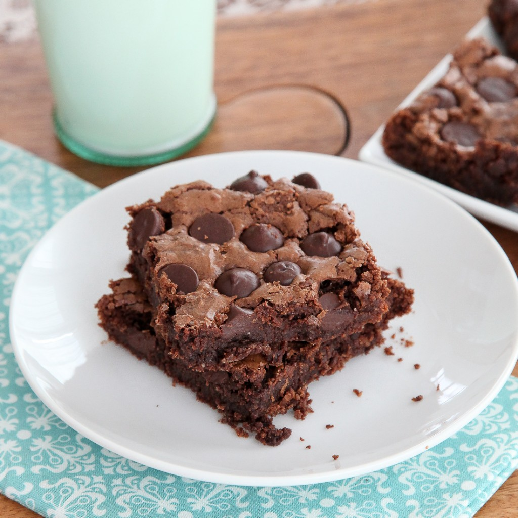 Triple Chocolate Gluten-free Brownies - Snixy Kitchen