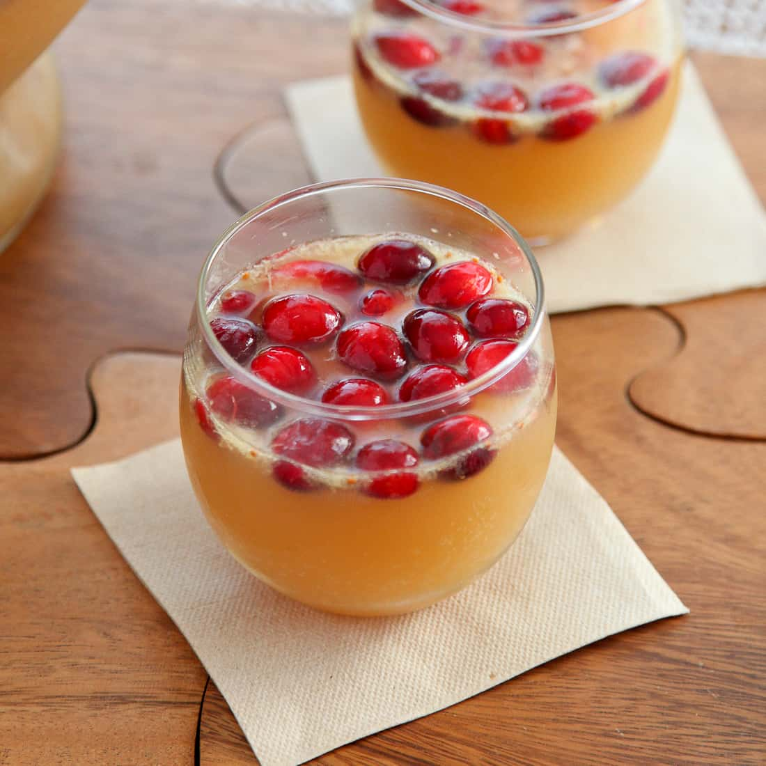 Sparkling Ginger Apple Punch