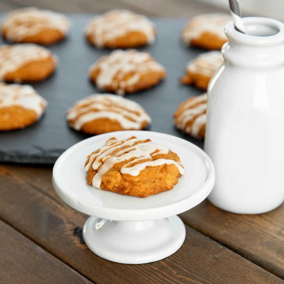 Gluten-free pumpkin spiced cookies