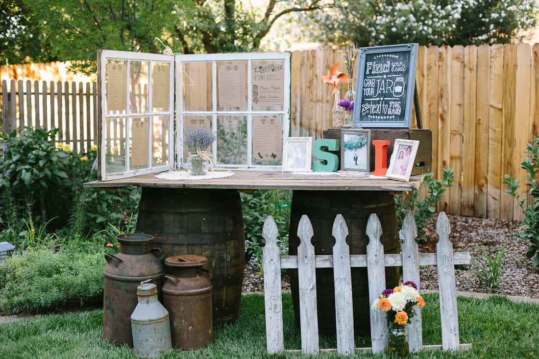 Diy backyard bbq wedding reception snixy kitchen diy backyard bbq wedding solutioingenieria Images
