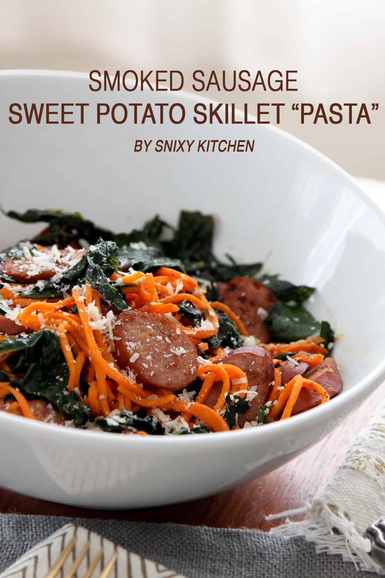 Sweet Potato Skillet Pasta
