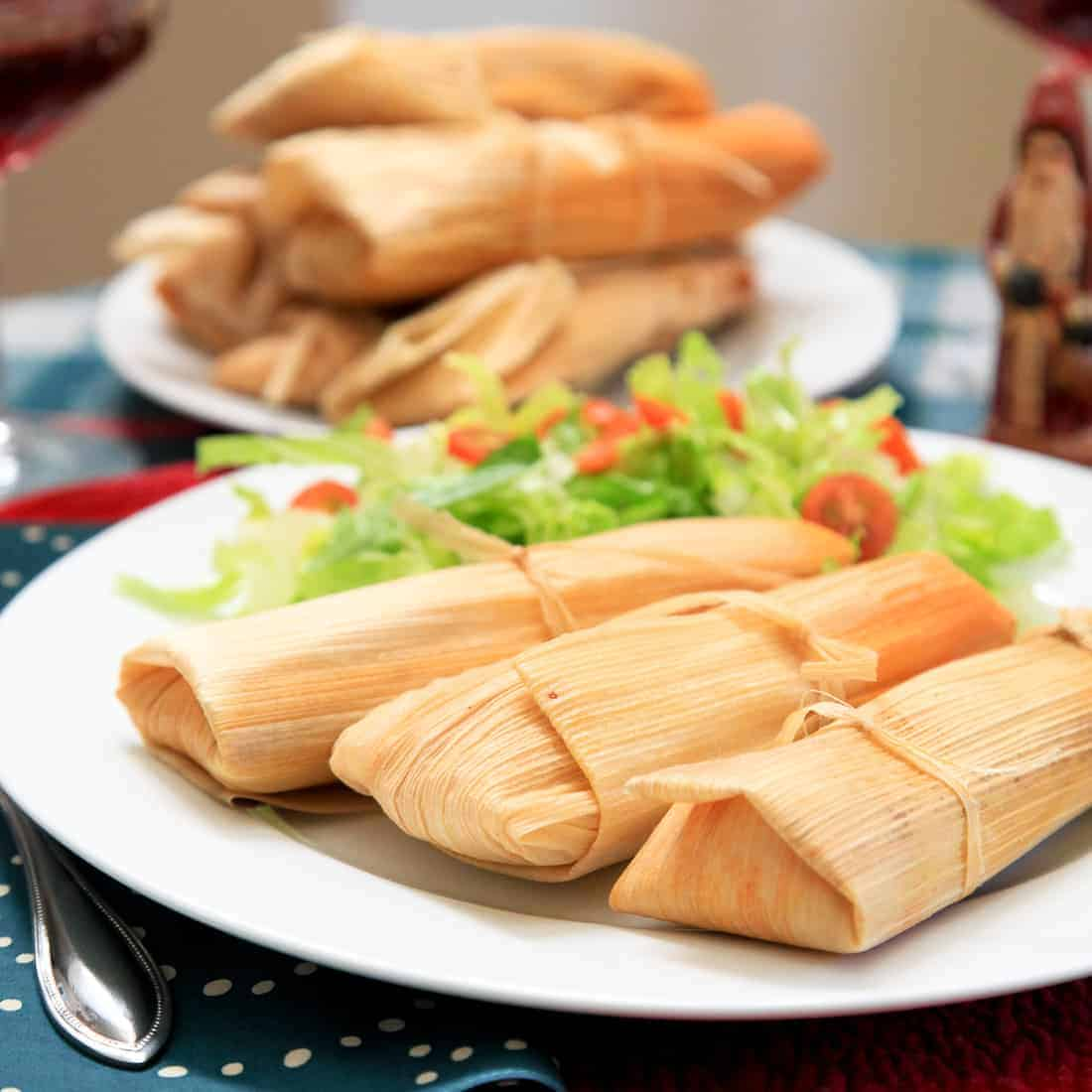 Pork Tamales for Christmas