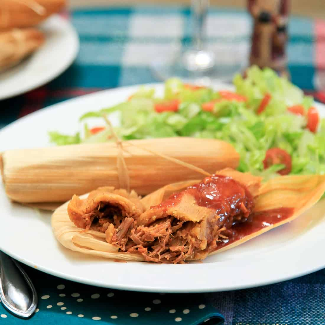 Pork Tamales & Chile Colorado