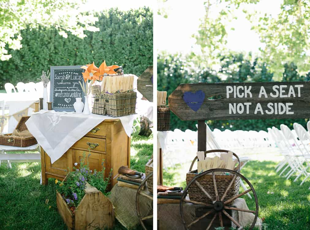 DIY Backyard BBQ Wedding Ceremony Snixy Kitchen