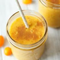 Kumquat mango smoothie