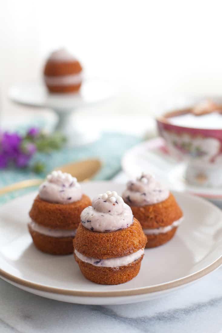 Strawberry Fairy Cakes