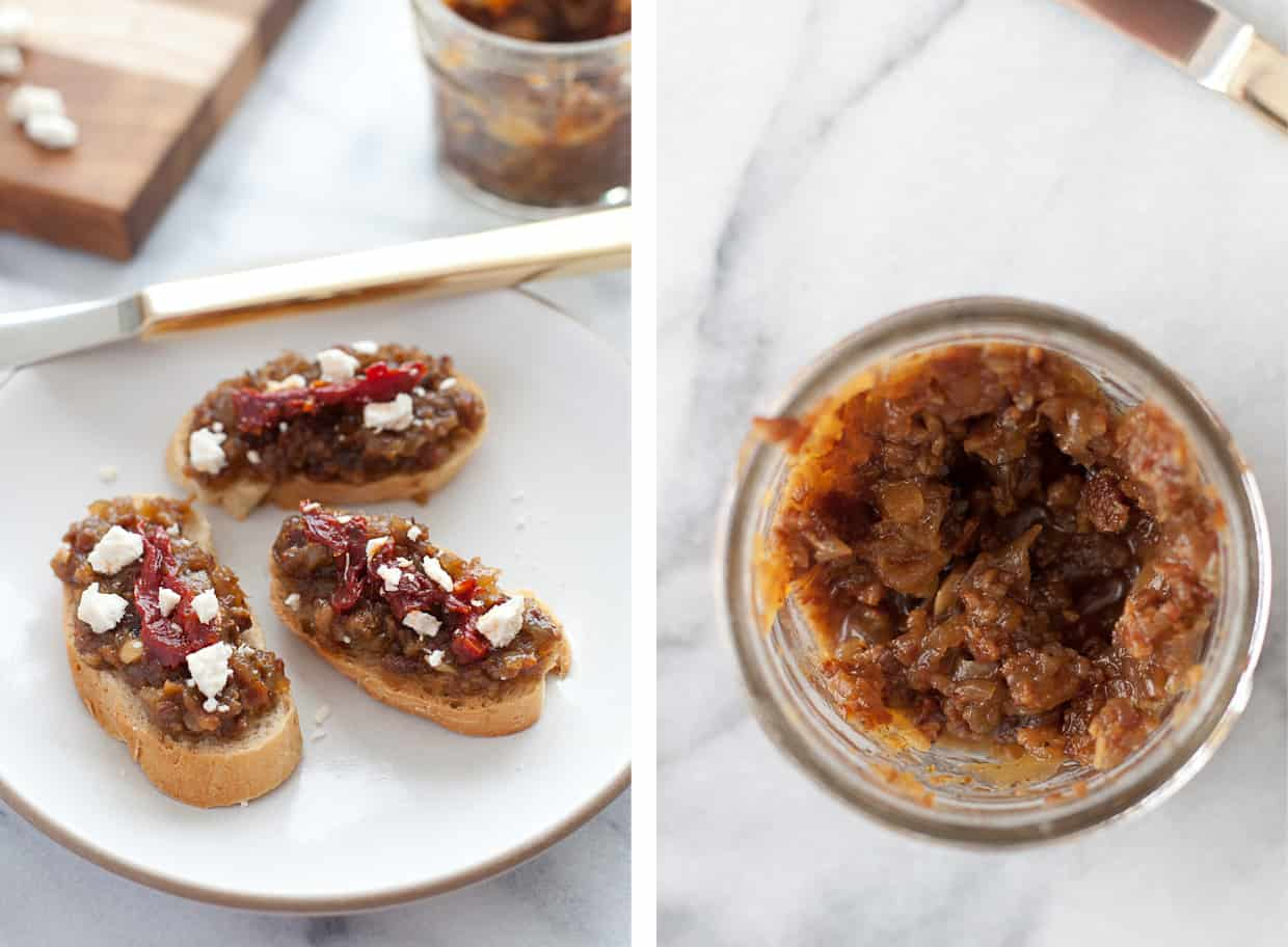 Bacon Jam on Toast