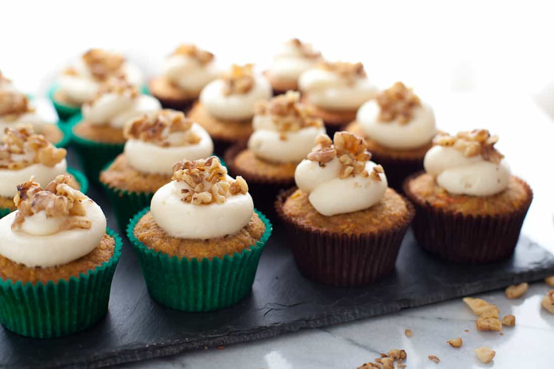 Butter Carrot Cake Cupcakes