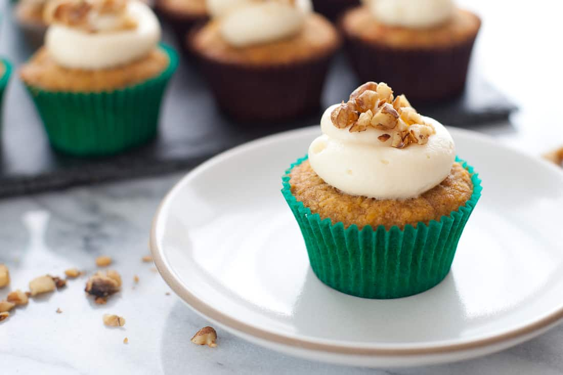 Moist Gluten-free Carrot Cupcakes