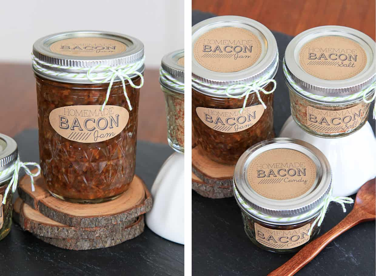 DIY Bacon Gifts - Bacon Jam