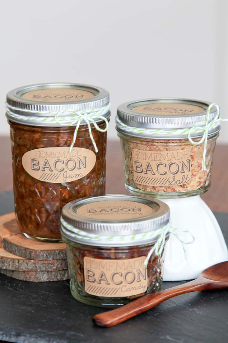 DIY Bacon Gifts: Bacon Jam, Bacon Salt, Bacon Candy