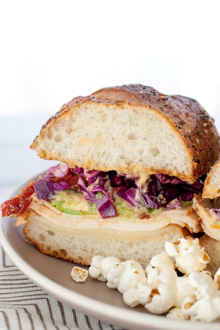 Sandwich with Chipotle Avocado Spread