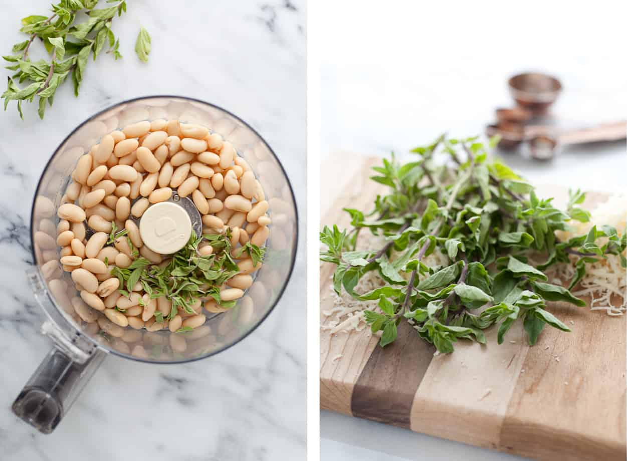 White beans and thyme