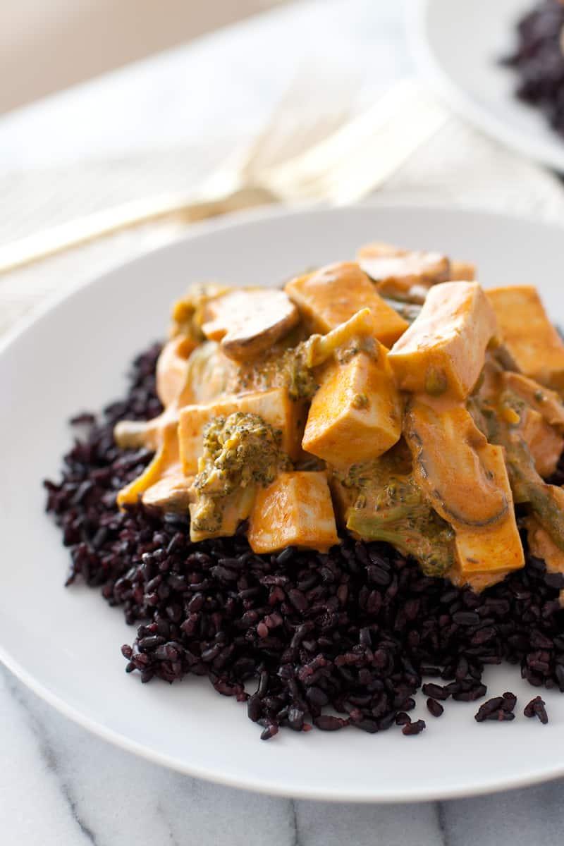 Veggie & Tofu Thai Curry