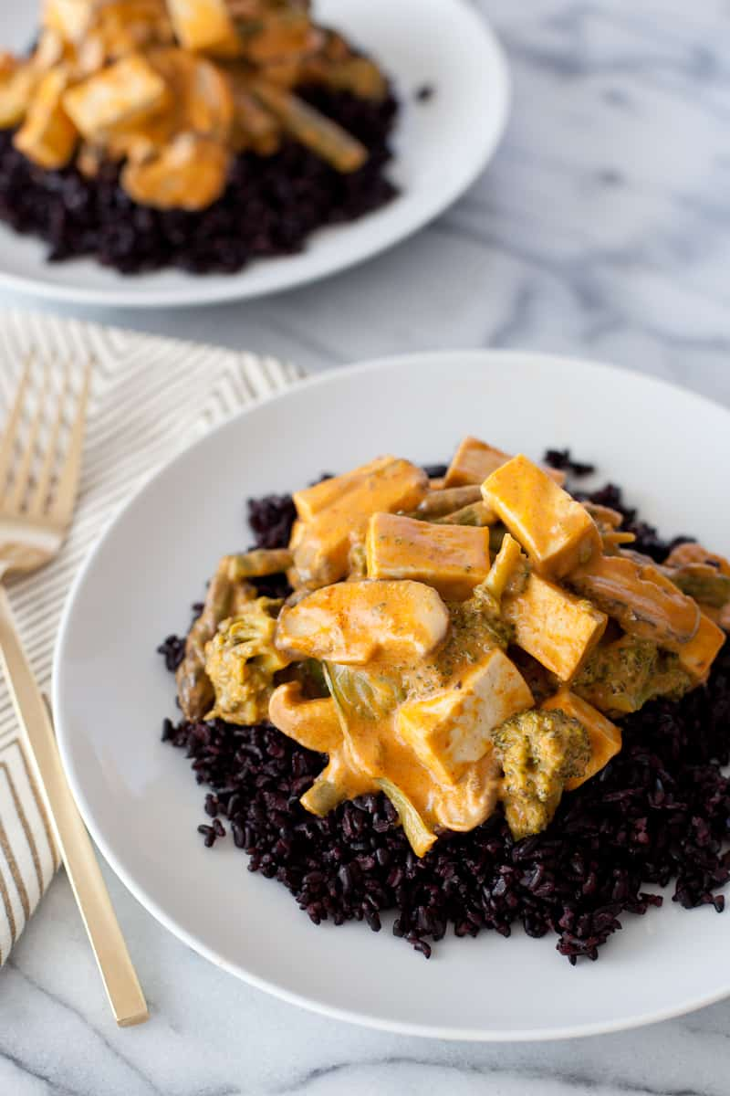 Tofu Thai curry
