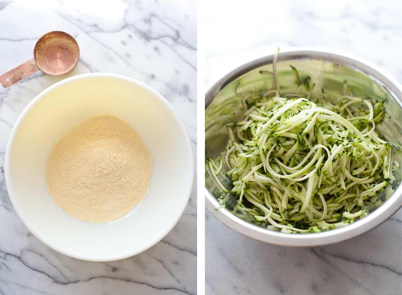 Homemade Zucchini Arepas