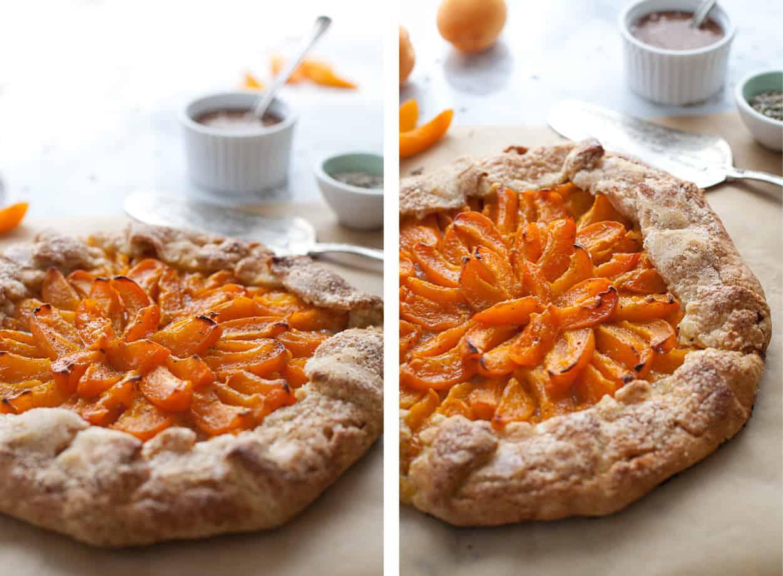 Gluten-free Apricot Galette Pie