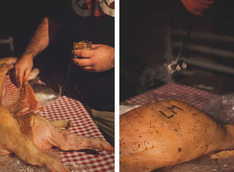 Backyard Pig Roast