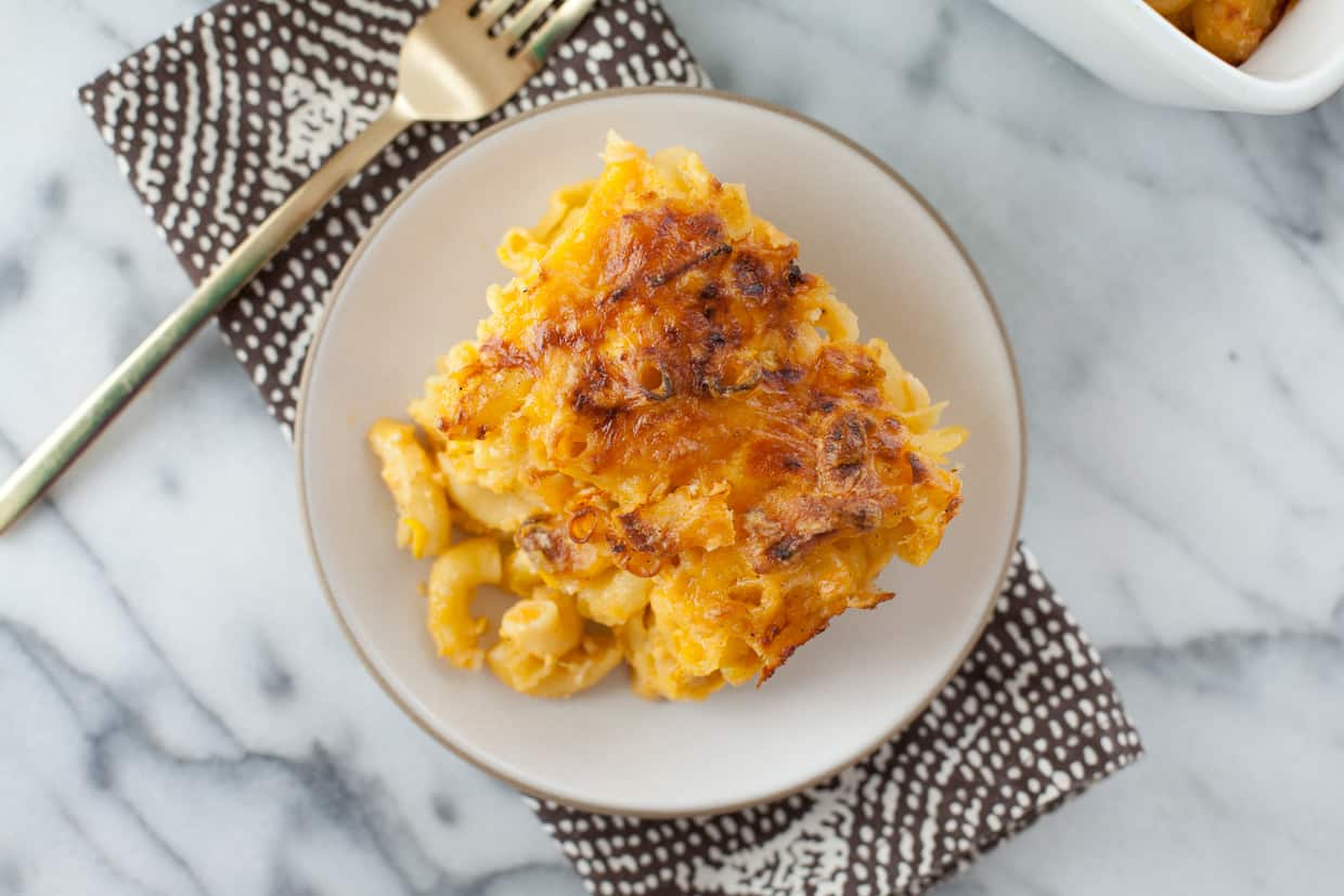 Baked Veggie & Cauliflower Macaroni and Cheese