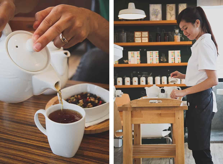 Juifen Tea Pour