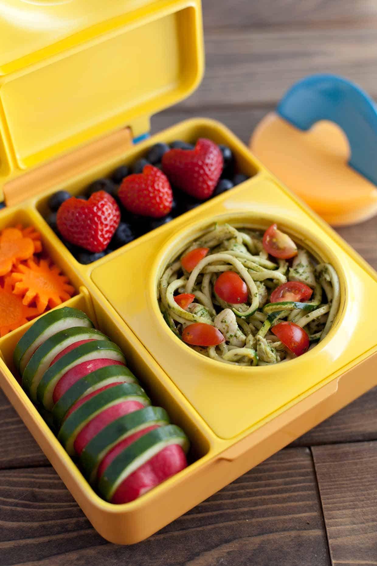 OmieBox Zucchini Noodles