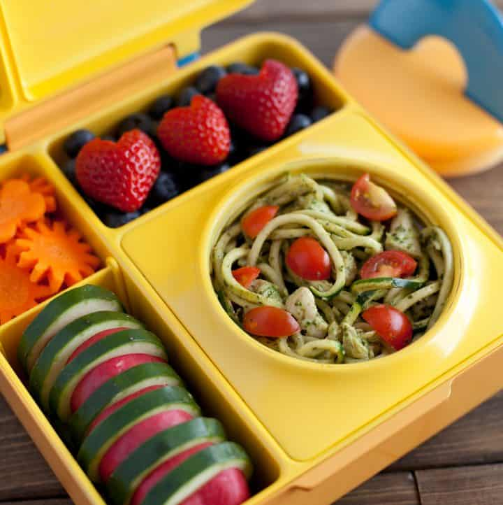 Pesto Zucchini Noodles - OmieBox-1
