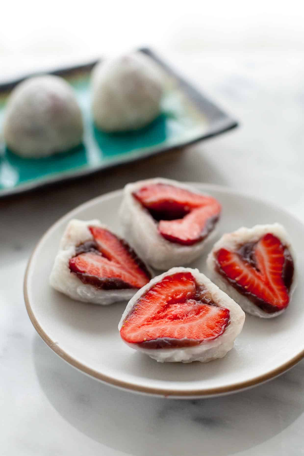 Strawberry Mochi Daifuku