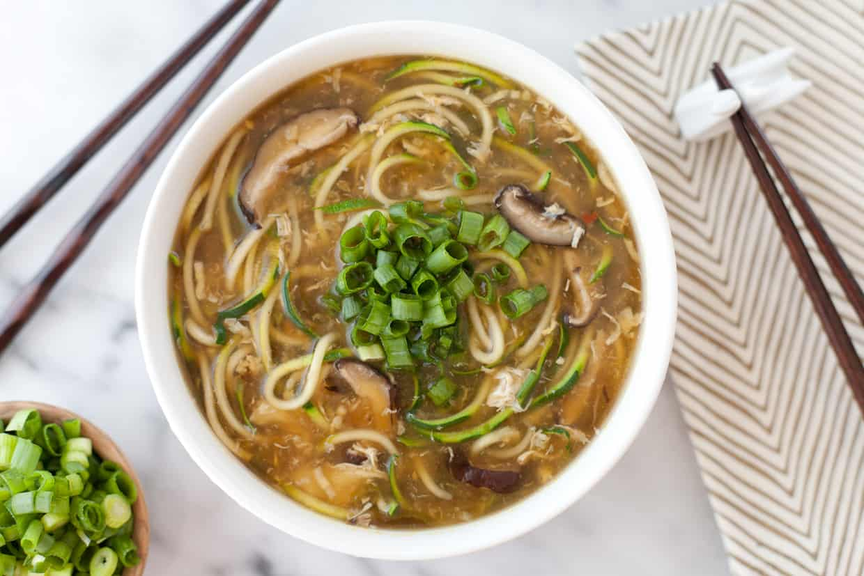 how to use rice noodles in soup