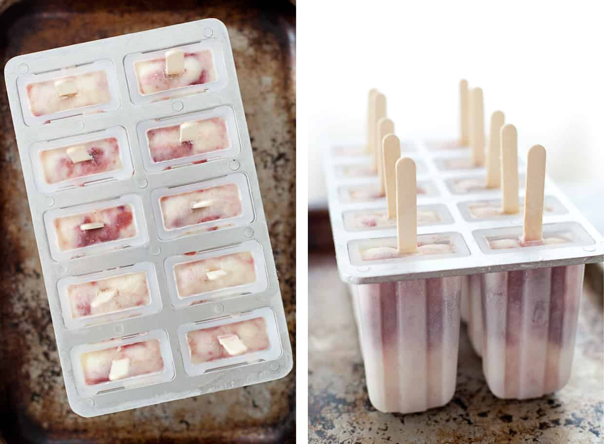 Fig & Goat Cheese Popsicles