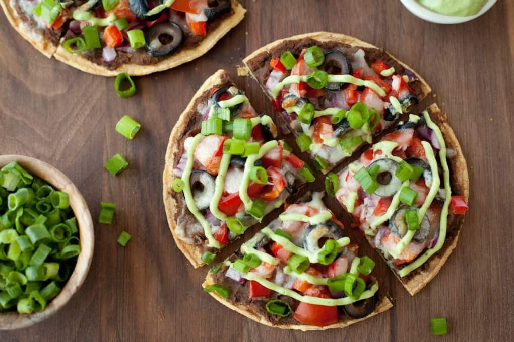 Skinny Mexican Pizza | Healthy Mexican Recipes | Homemade Recipes