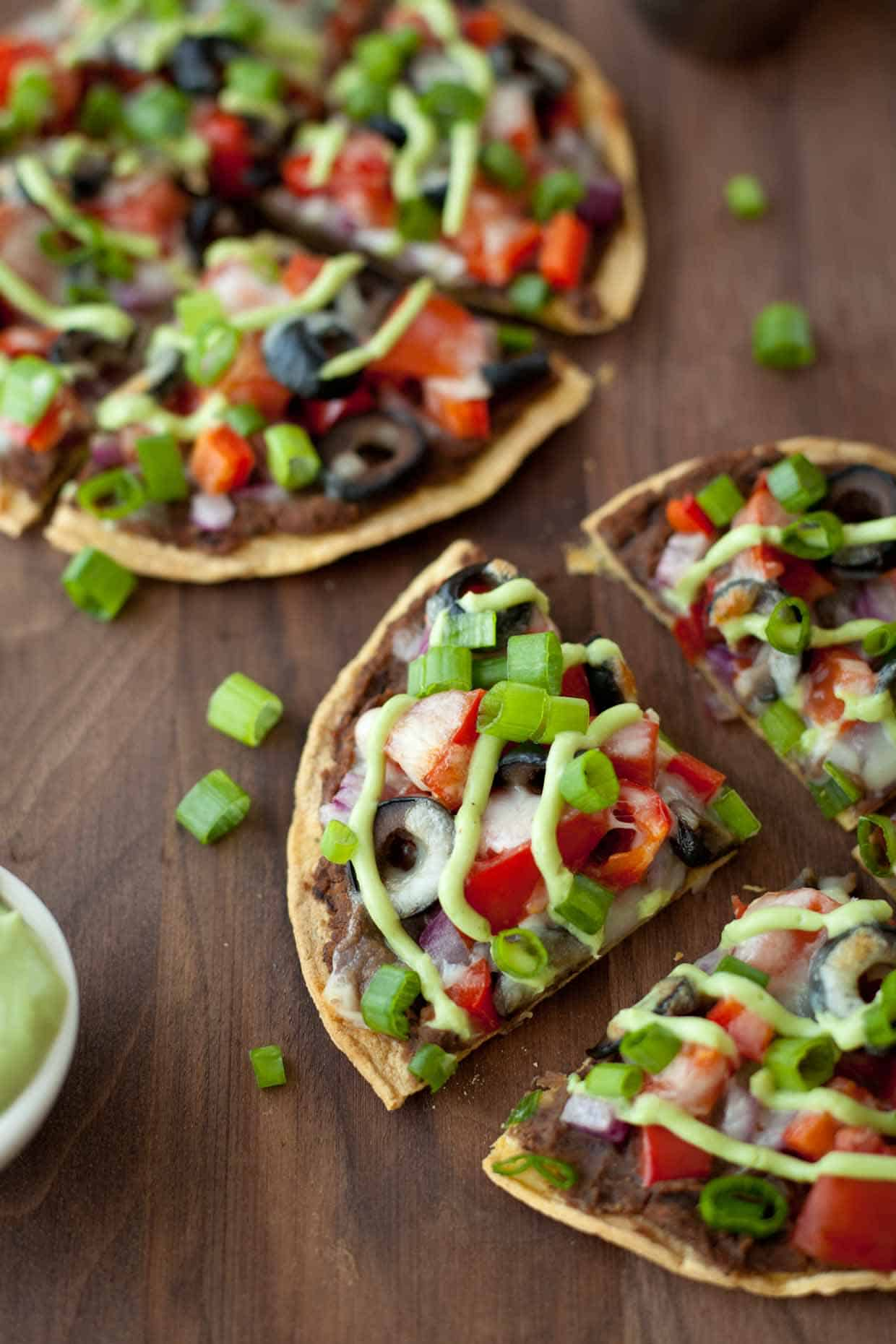 Skinny Mexican Pizza