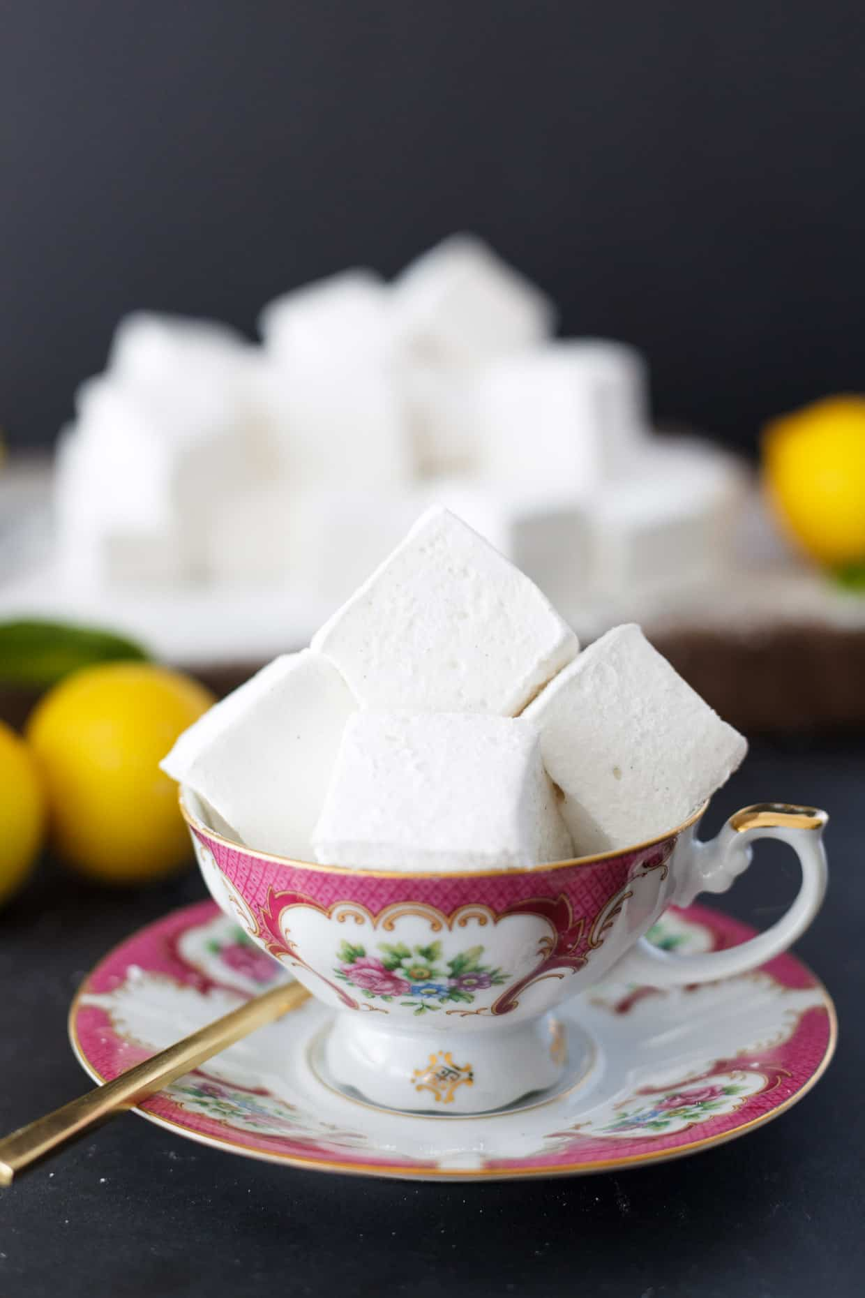 Lemon Meringue Marshmallows
