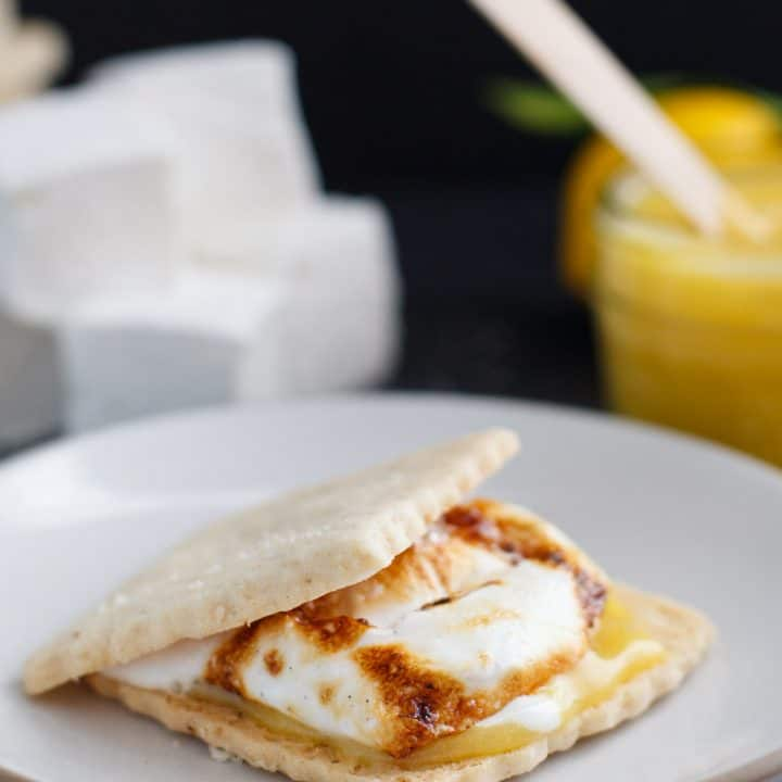Lemon Meringue Smores