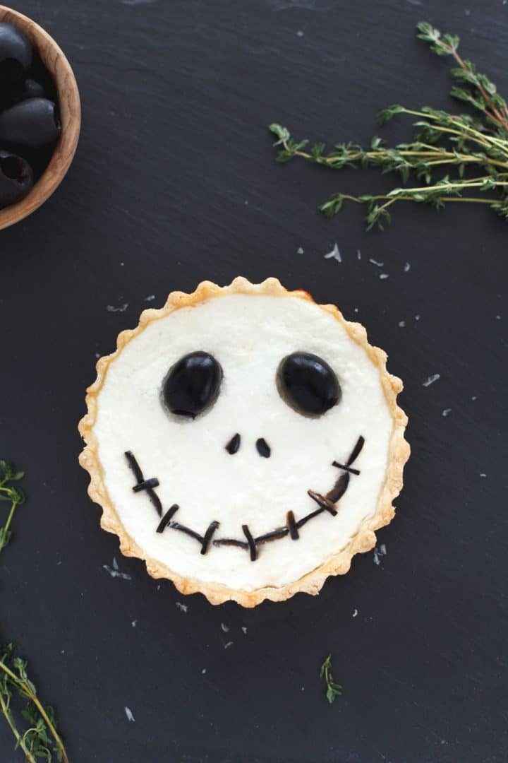 Jack Skellington Tart