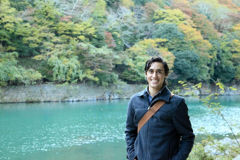 Arashiyama Oi River