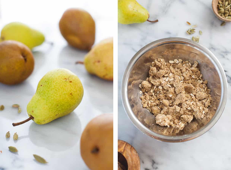 Oat crisp with Pears