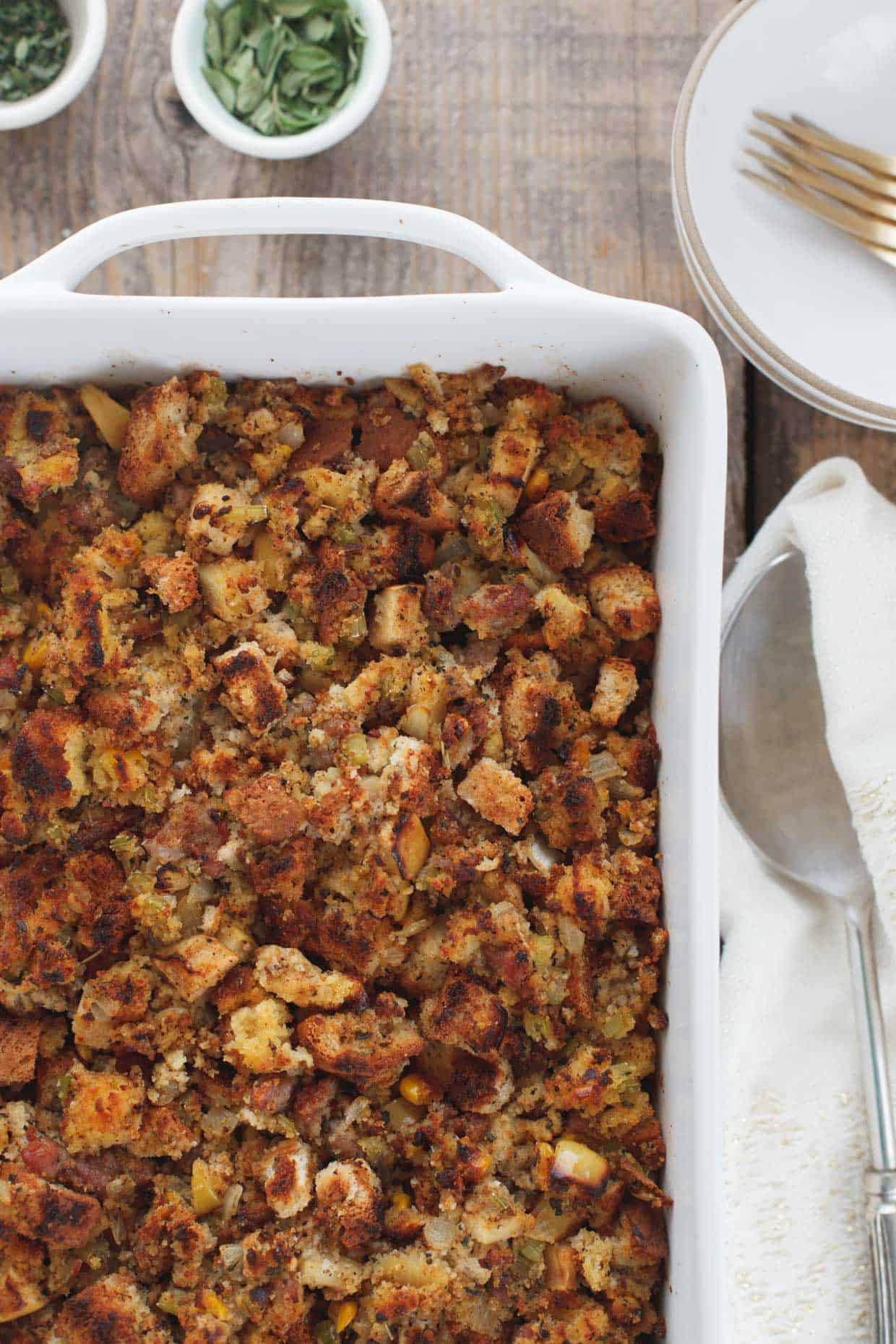 Herbed Cornbread Stuffing