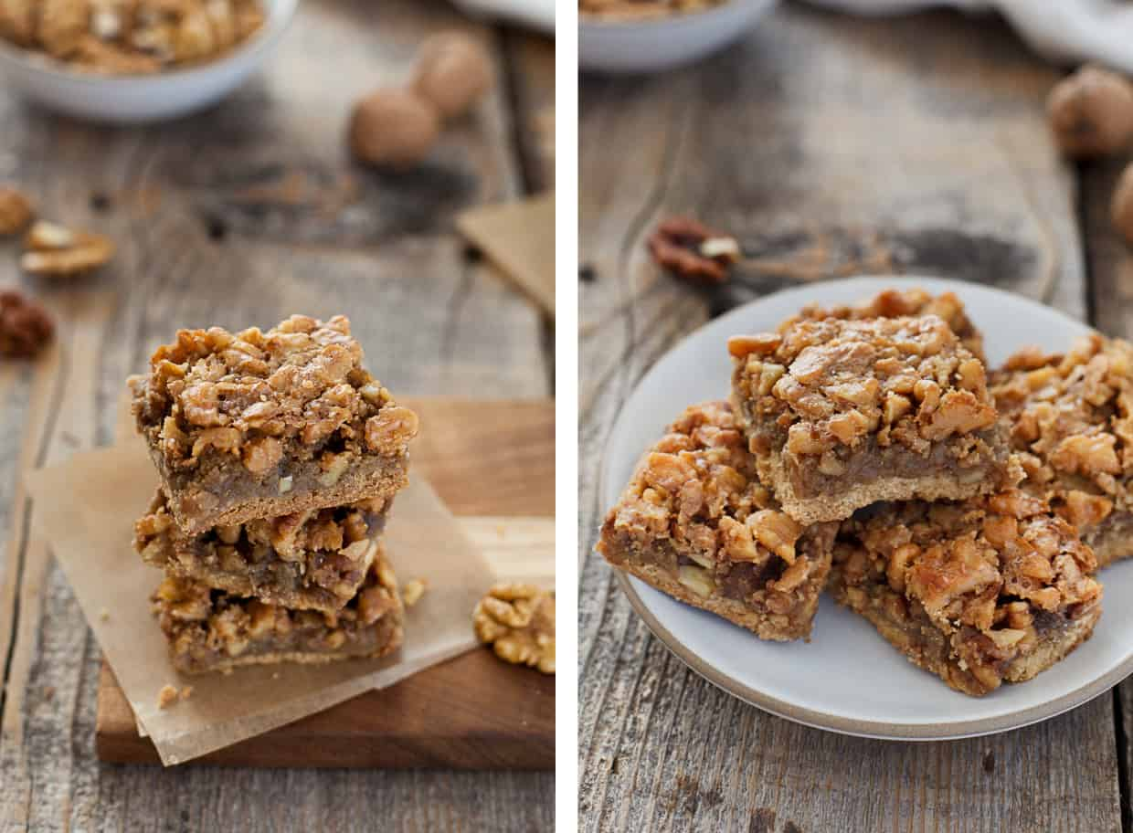 Gluten-free Walnut Bars