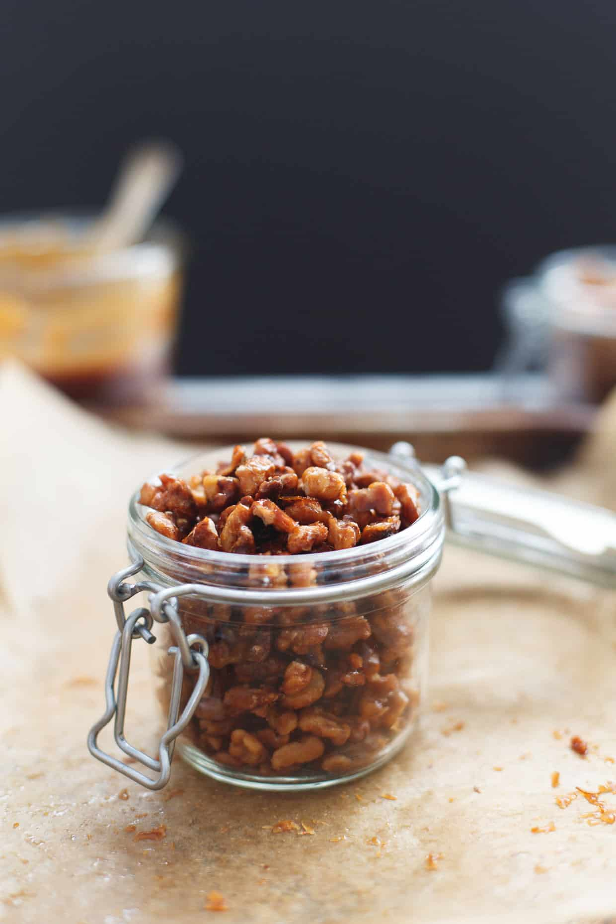 Candied Glaze Walnuts