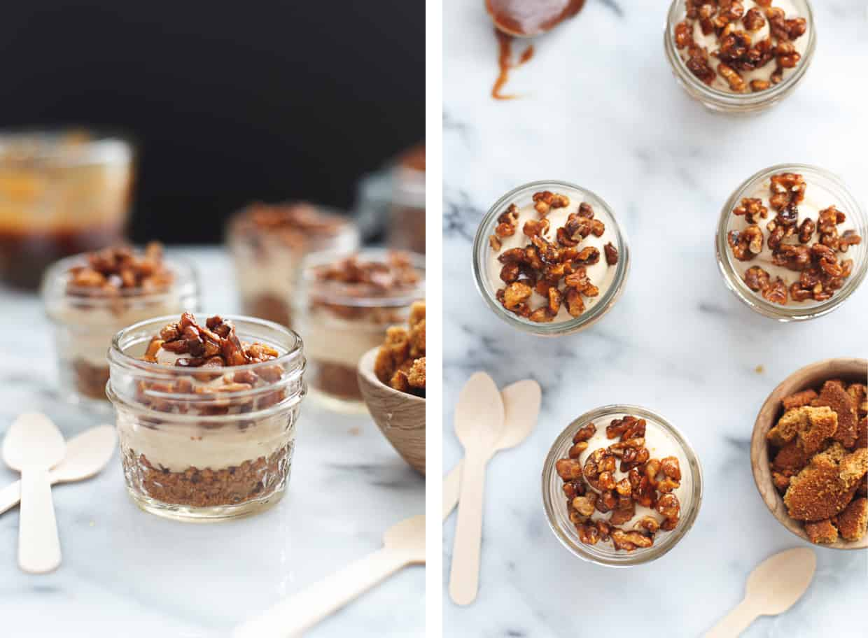No Bake Cheesecake Mousse Cups