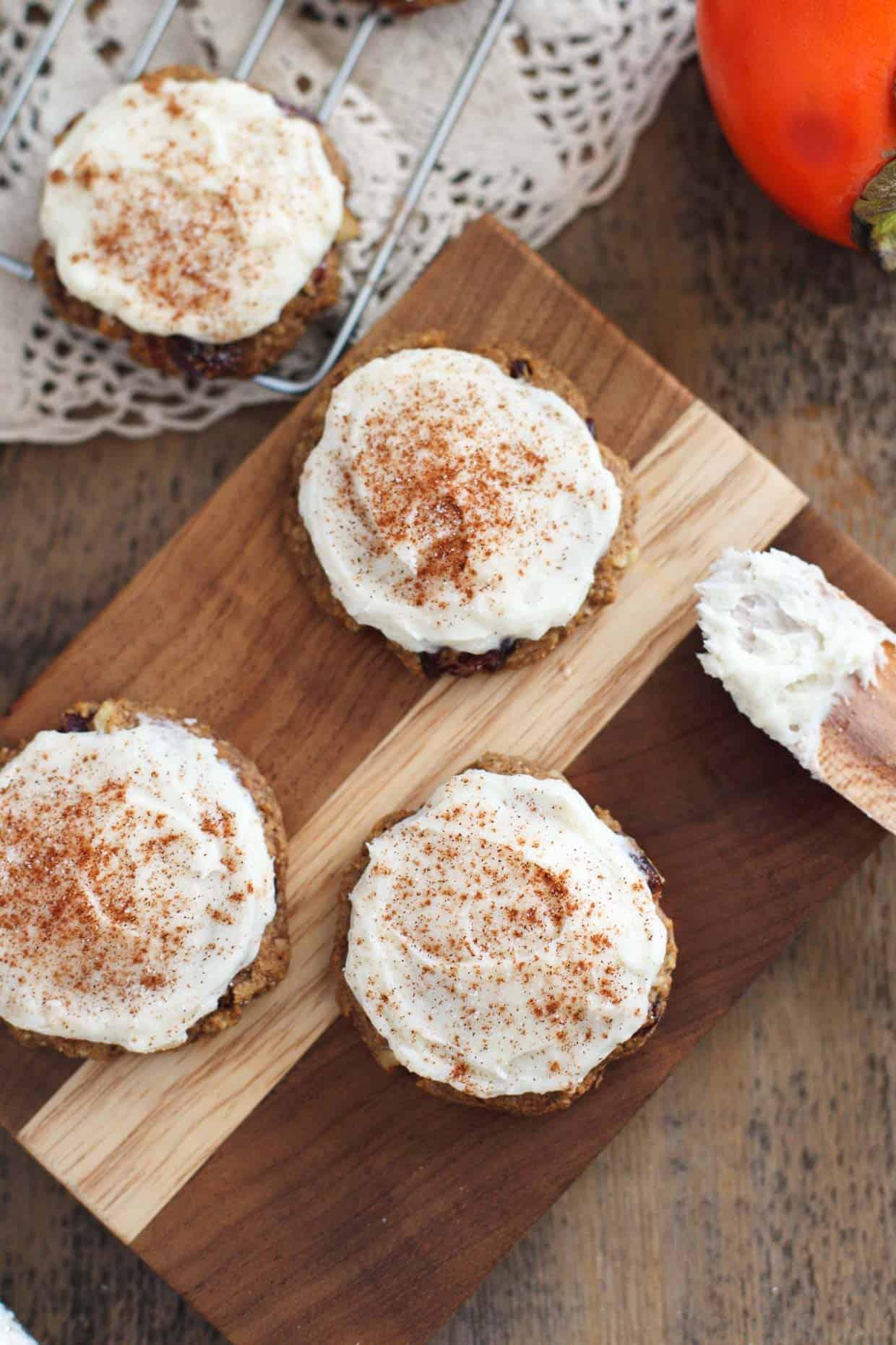 Gluten-free Persimmon Cookies