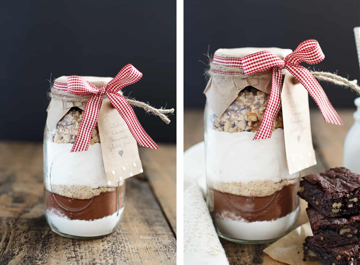 Brownies Gift in a Jar