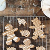 Gluten-free Iced Gingerbread Men (and Ginger Cats)